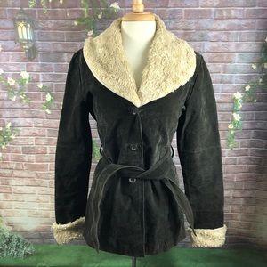 R Wear Rampage Leather Women's Jacket Size L
